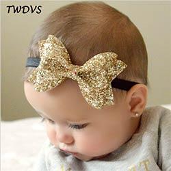 Bébé Fille Bandeau Ruban élastique Coiffure enfants nouveau-né cheveux bande nœud 3pcs Set