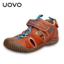 1d9d44e414cce Prix UOVO Non-slip Orteils-Protection Sandales Pour Enfants
