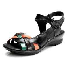 Femmes D'été Chaussures Femme Cuir Prix Véritable Sandales I6myv7Ybfg