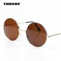 YOOSKE Vintage lunettes de Soleil Rondes Pour Les Femmes Hommes Marque  Designer Miroir Lunettes Rétro Femme Homme Soleil Lunettes Hommes de Femmes  de Pixel 9ffb51812517