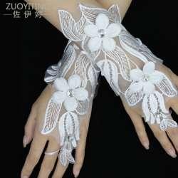 Prix zuoyiting blanc dentelle princesse de mariage gants for Robe de mariage conception de jeux en ligne gratuit