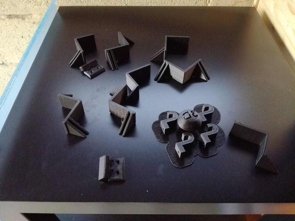Pièces 3D imprimées