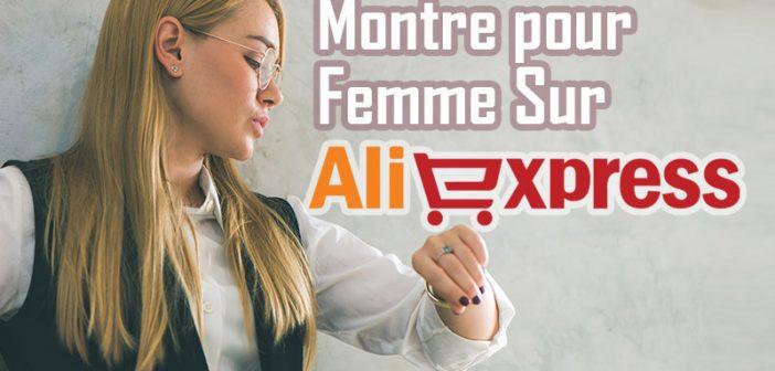 Acheter une montre pour femme sur Aliexpress
