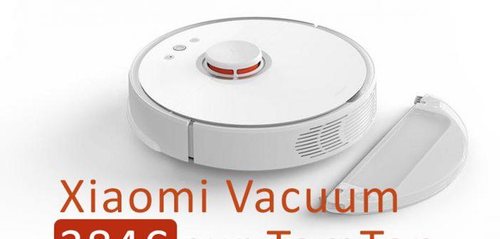 Grosse promotion sur le Xiaomi Vacuum (384€) chez TomTop !