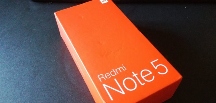 Test du Xiaomi Redmi Note 5 – Version Phablette